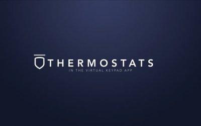 Virtual Keypad App – Thermostats