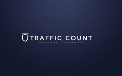Virtual Keypad App – Traffic Count