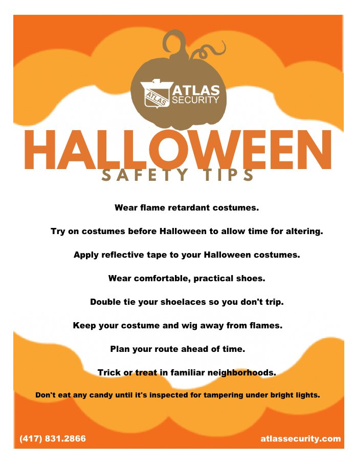 Halloween Safety Tips (2017) - Atlas Security