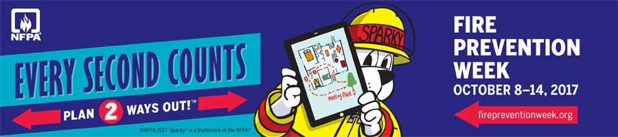 Fire Prevention Week: Every Second Counts