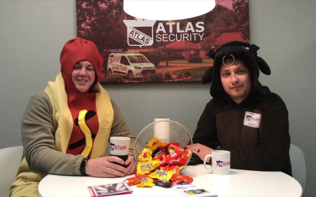 Atlas Security Halloween Safety Tip: Check That Candy
