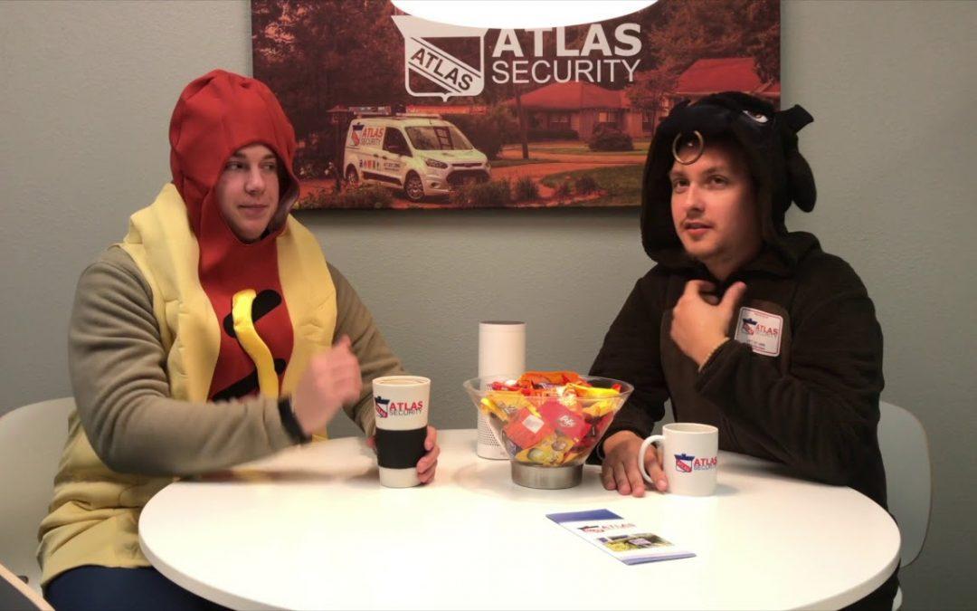 Atlas Security Halloween Tips: Bloopers