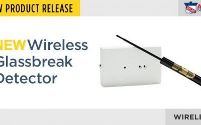 Introducing The New, Smaller Wireless Glassbreak Detector