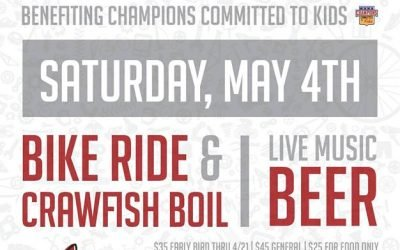 Seventh Annual Tour de Crawdad – May 4th