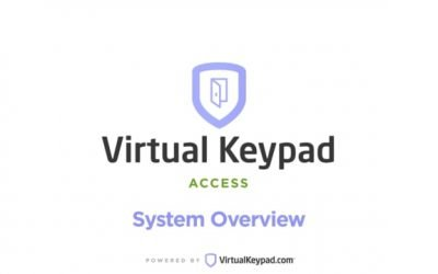 Virtual Keypad Access – Overview