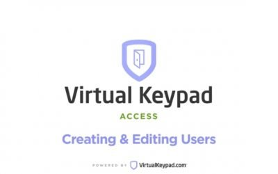 Virtual Keypad Access – Users