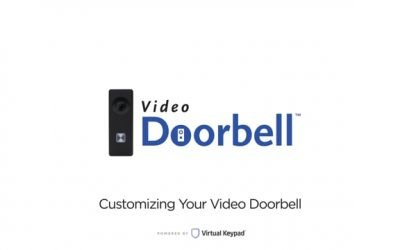 Virtual Keypad – Customizing Your Video Doorbell