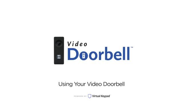 Virtual Keypad – Using Your Video Doorbell
