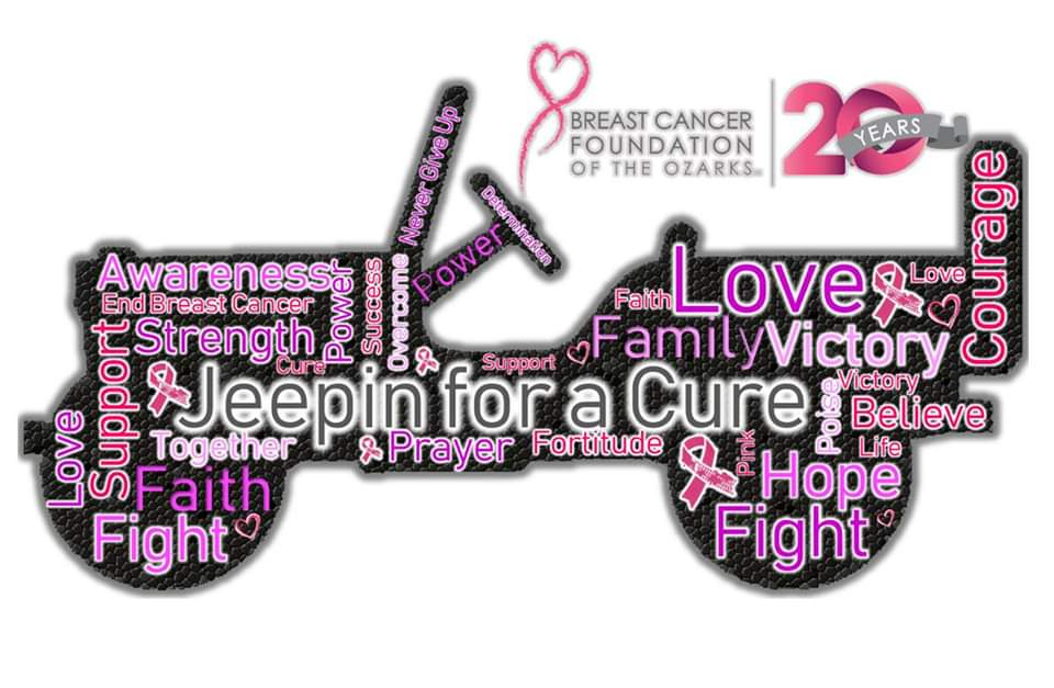 2020 Jeepin for a Cure | Breast Cancer Awareness