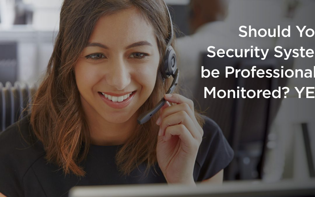 Should You Have Your Security System Professionally Monitored?